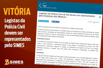 Vitória Expressiva para o Sindicato dos Médicos: Legistas da Polícia Civil devem ser representados pelo SIMES