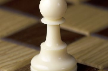O peão de branco