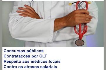 Entidades médicas da Bahia divulgam manifesto