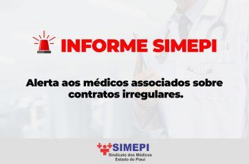 Alerta aos médicos associados sobre contratos irregulares