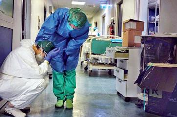 Adoecimento dos profissionais de saúde durante a pandemia
