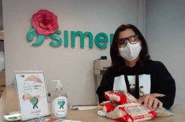 Simers estimula doações para o Outubro Rosa